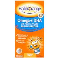 Haliborange Kids Omega 3 Orange Syrup - 200ml - Box - Orange