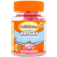 Haliborange Kids Calcium & Vitamin D Softies - 30 Strawberry Fruit Shapes