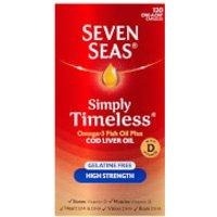Seven Seas Cod Liver Oil High Strength Capsules - 120 Capsules