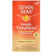 Seven Seas Cod Liver Oil Extra High Strength - 60 Capsules