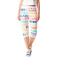 adidas Womens Stellasport 3/4 Track Pants - White - XXS/UK 0-2 - White