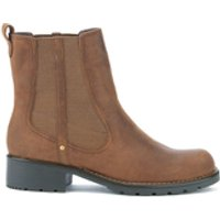 Clarks Orinoco Club Leather Chelsea Boots - Brown