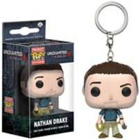 Uncharted Nathan Drake Pop! Vinyl Figure Key Chain - Drake Gifts