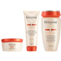 Kerastase Nutritive Fondant Magistral 200ml & Nutritive Bain Magistral 250ml & Nutritive Creme Magis