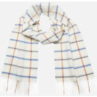 Barbour Womens Country Tattersall Scarf - Arctic Plaid