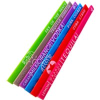 Cookut Easy Cocktail Recipe Stirrers (Set of 6)