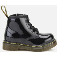 Dr. Martens Toddlers' 1460 I Patent Lamper Lace Up Boots - Black - UK 3 Toddler - Black