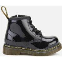 Dr. Martens Toddlers' 1460 I Patent Lamper Lace Up Boots - Black - UK 5 Toddler - Black