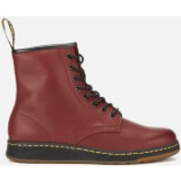 Dr. Martens Newton Lite Temperley Leather 8-Eye Boots - Cherry Red - UK 3 - Burgundy