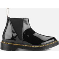 Dr. Martens Womens Pointed Bianca Patent Lamper Chelsea Boots - Black - UK 7 - Black
