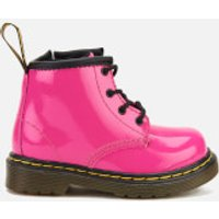 Dr. Martens Toddlers' 1460 I Patent Lamper Lace Up Boots - Hot Pink - UK 5 Toddler - Pink