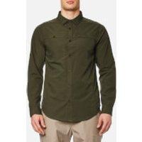 Craghoppers Mens Kiwi Trek Long Sleeve Shirt - Parka Green - S - Green