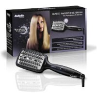 Babyliss Diamond Heated Smoothing Brush - Black