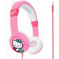 Hello Kitty Children's On-Ear Headphones - Hot Polka Dot - Hello Kitty Gifts