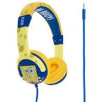 SpongeBob SquarePants Epic Children's On-Ear Headphones - Yellow/Blue - Spongebob Squarepants Gifts