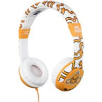 Mr. Men Children's On-Ear Headphones - Mr. Tickle - Mr Tickle Gifts