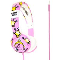 Mr. Men Children's On-Ear Headphones - Little Miss Princess - Mr Men Gifts