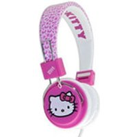 Hello Kitty Folding On-Ear Headphones - Fuzzy Bow - Hello Kitty Gifts