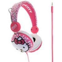 Hello Kitty On-Ear Headphones - Pink Leopard