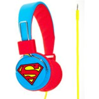 Superman Folding On-Ear Headphones - Superman Logo - Music Gifts