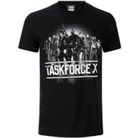 DC Comics Men's Suicide Squad Taskforce X T-Shirt - Black - XXL - Black