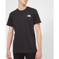 The North Face Men's Short Sleeve Simple Dome T-Shirt - TNF Black - M