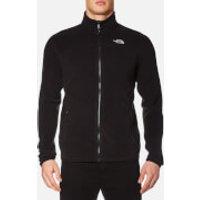 The North Face Men's 100 Glacier Full Zip Fleece - TNF Black - XL - Black