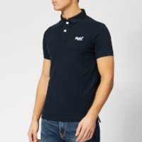 Superdry Men's Classic Pique Polo Shirt - Eclipse Navy - XXL - Navy