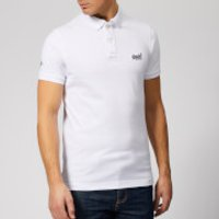 Superdry Men's Classic Pique Polo Shirt - Optic White - M