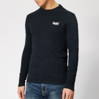 Superdry Men's Orange Label Vintage Embroidery Top - Eclipse Navy - M - Navy