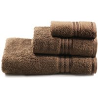 Restmor 100% Egyptian Cotton 3 Piece Towel Bale - Chocolate