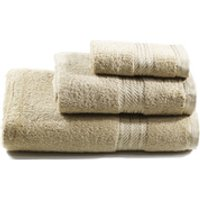 Restmor 100% Egyptian Cotton 3 Piece Towel Bale (500GSM) - Latte - Towel Gifts