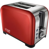 Russell Hobbs 22391 2 Slice Canterbury Toaster - Red