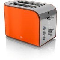Swan ST17020ON 2 Slice Retro Toaster - Orange - Retro Gifts
