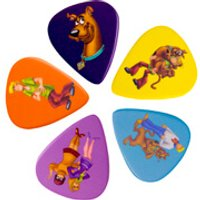 Scooby-Doo! Scooby and the Gang Guitar Plectrums (Set of 5) - Music Gifts