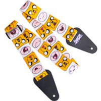 adventure-time-finn-jake-fabric-guitar-strap