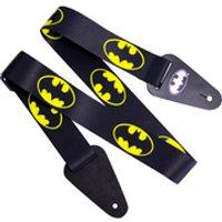 Batman Logo Fabric Guitar Strap - Music Gifts