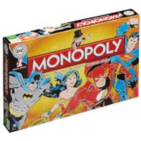 Monopoly Board Game - DC Comics Retro Edition - Monopoly Gifts