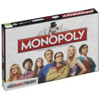 Monopoly Board Game - The Big Bang Theory Edition - The Big Bang Theory Gifts