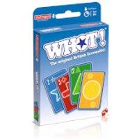 WHOT! Travel Tuckbox Card Game - Original Edition