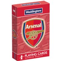 Waddingtons Number 1 Playing Cards - Arsenal F.C Edition - Playing Cards Gifts