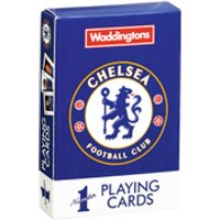Waddingtons No. 1 Playing Cards - Chelsea FC - Chelsea Fc Gifts
