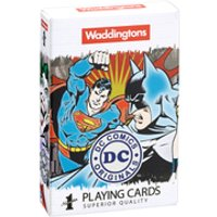 Waddingtons Number 1 Playing Cards - DC Superheroes Edition - Playing Cards Gifts