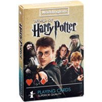Waddingtons No. 1 Playing Cards - Harry Potter - Playing Cards Gifts