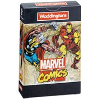 Waddingtons Number 1 Playing Cards - Marvel Comics Retro Edition - Playing Cards Gifts