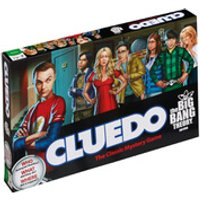 Cluedo Mystery Board Game - The Big Bang Theory Edition - The Big Bang Theory Gifts