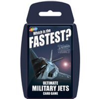 Classic Top Trumps - Ultimate Military Jets