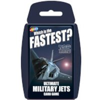 Top Trumps - Ultimate Military Jets - Military Gifts