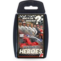 Top Trumps Card Game - Grand Prix Heroes Edition - Formula 1 Gifts