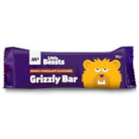 Little Beasts Grizzly Bar - Box of 6 - 6 x 30gBars - Box - Toffee & Banana